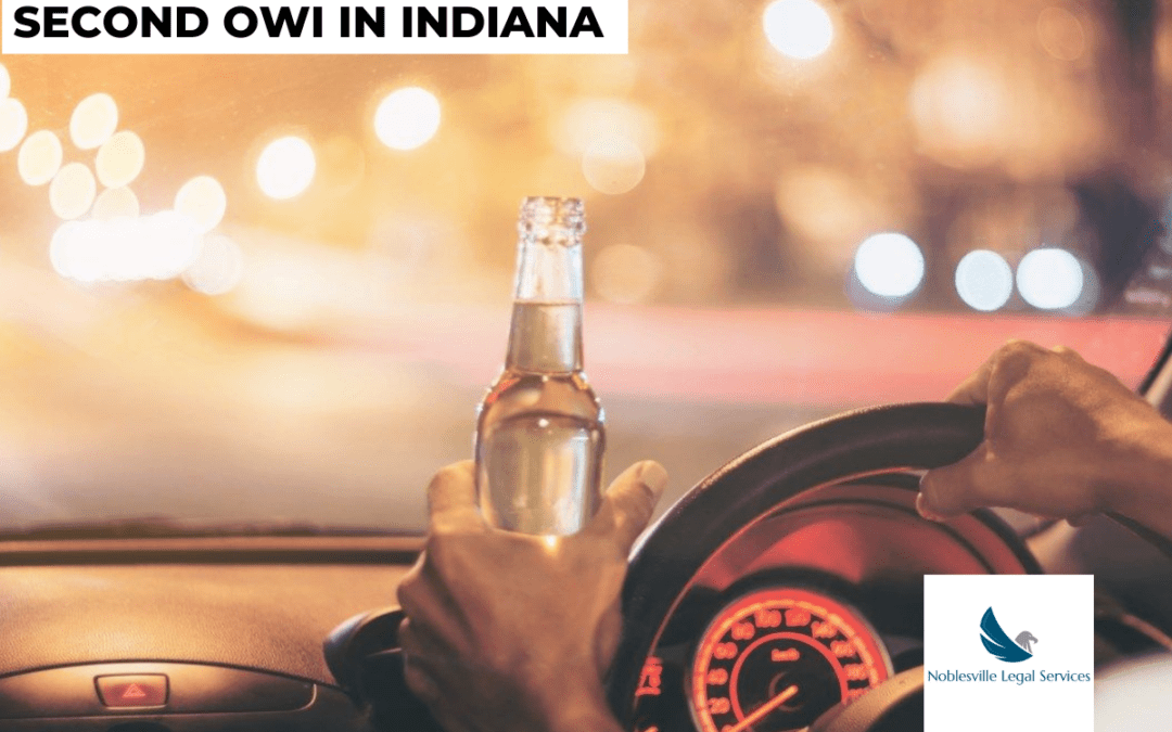 Second OWI in Indiana